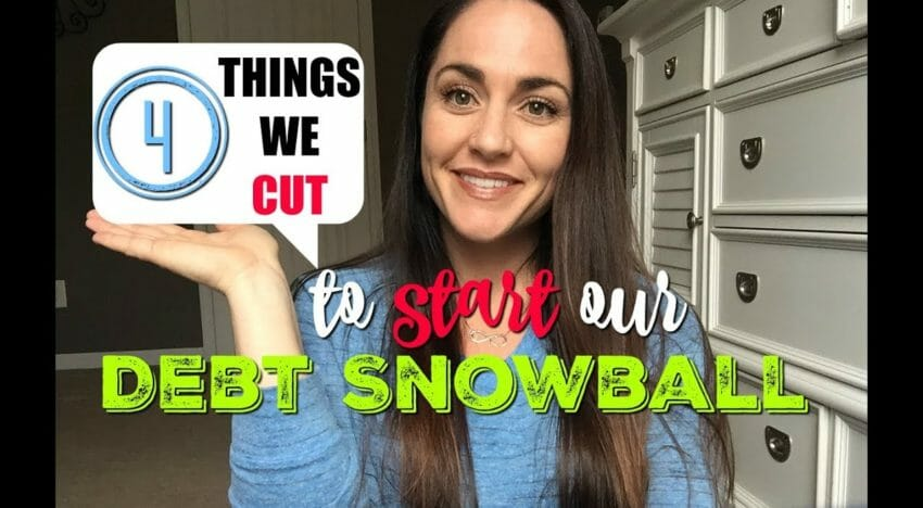 What We Cut From the Budget in Order to Start Our Debt Snowball