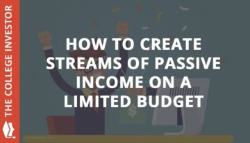 How to Create Passive Income On A Limited Budget
